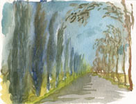 Aquarelle route