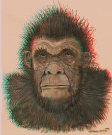bigfoot anaglyph stereo 3d